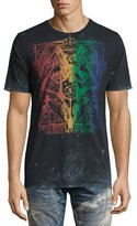 PRPS Lando Rainbow Logo T-Shirt, Black