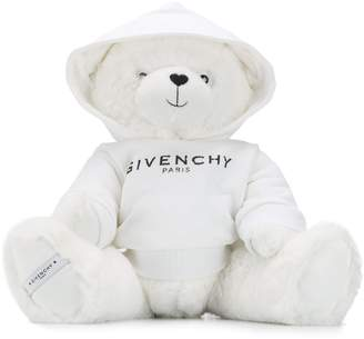 Givenchy Kids logo hooded teddybear