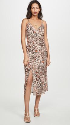 SUBOO Uma Gathered Slip Dress