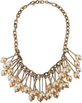 Valentino Pearly Bib Necklace