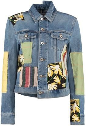 Loewe Patchwork Denim Jacket