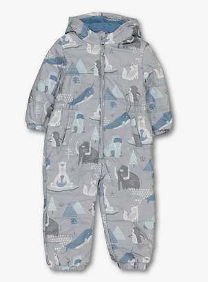 Tu Grey Arctic Animal Snow Suit