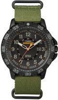 Timex Men's Rugged Green Nylon Strap Watch 59mm TW4B03600JT