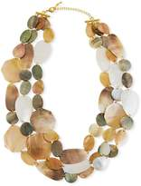 Viktoria Hayman Three-Strand Mother-of-Pearl Necklace