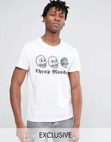 Cheap Monday Triple Skull T-Shirt