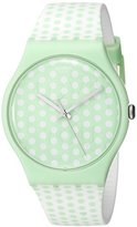 Swatch Women's SUOG108 Analog Display Quartz Multi-Color Watch