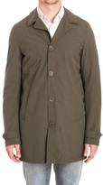 Herno Buttoned Raincoat