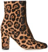 Brian Atwood 'Talise' boots - women - Leather/Pony Fur - 36