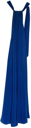 Kalita Blue Silk Dress for Women