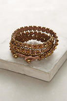 Anthropologie Bronzed Wrap Bracelet