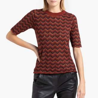 soeur Homard Jumper in Multi-Coloured Fine Knit
