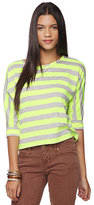 Bright Stripes Dolman Top