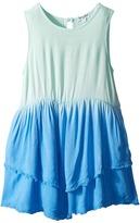 Splendid Littles Dip-Dye Frayed Edges Dress Girl's Dress