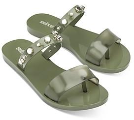 Melissa Women's Love Lip Ii Slip On Sandals