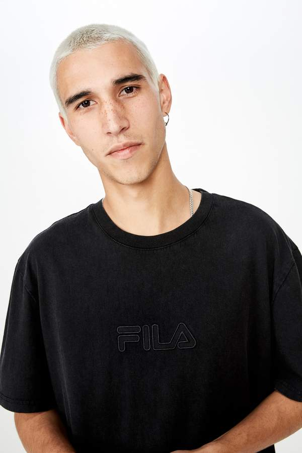 Fila Factorie Regular Washed T Shirt