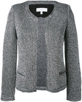 IRO 'Wallace' metallic knit jacket - women - Cotton/Polyester/Viscose/Polyamide - 36
