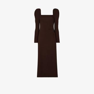 Johanna Ortiz Ember New World square neck dress