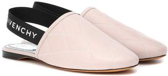 Givenchy Rivington leather slingback slippers