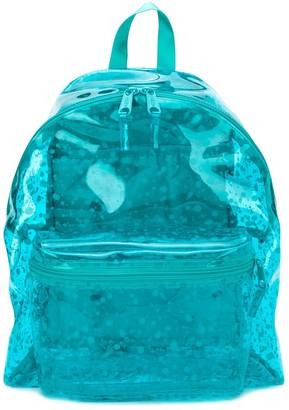 Eastpak Transparent Paint Splatter Print Backpack