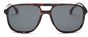 Carrera Men's Polarized Brow Bar Sunglasses, 56mm