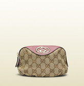 Gucci sukey original GG canvas cosmetic case