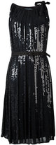 Prada sequinned belted dress