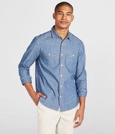 Cape Juby Medium Wash Chambray Button Down