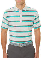 Callaway Golf Performance Heathered Stripe Printed Polo