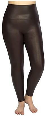 Spanx Plus Size Faux Leather Leggings