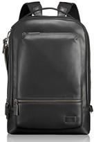 Tumi Men's 'Harrison - Bates' Leather Backpack - Black