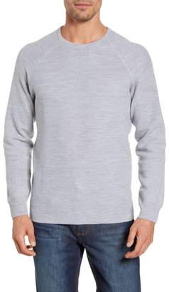 Peter Millar Raglan Sleeve Honeycomb Knit Pullover