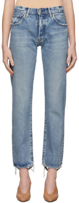 Moussy Blue MV Norwalk Straight Jeans