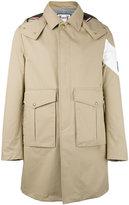 Moncler Gamme Bleu single breasted coat