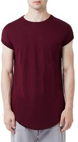 Topman Men's Drop Shoulder Longline T-Shirt