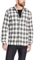 Threads 4 Thought Men's Peached Chambray Button-Front Work Shirt