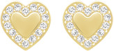 Swarovski Heart Micro Pierced Earrings