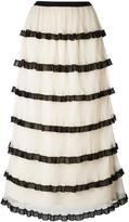 RED Valentino frill layered skirt - women - Polyester - 40