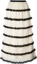 RED Valentino frill layered skirt - women - Polyester - 42