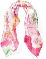Ralph Lauren Suzanne Floral Silk Scarf