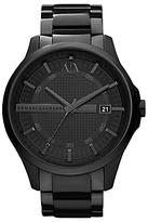 Armani Exchange Ax2104 Date Bracelet Strap Watch, Gunmetal