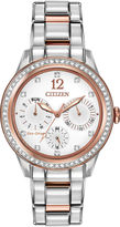 Citizen Eco-Drive Womens Two-Tone Multifunction Watch FD2016-51A