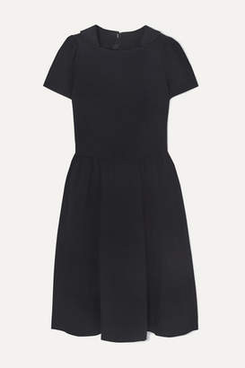 Comme des Garcons Crinkled-twill Dress - Navy