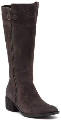 Børn Fannar Wide Calf Suede Knee High Boot