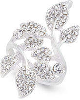 INC International Concepts Silver-Tone Pavé Multi-Leaf Ring, Created for Macy's