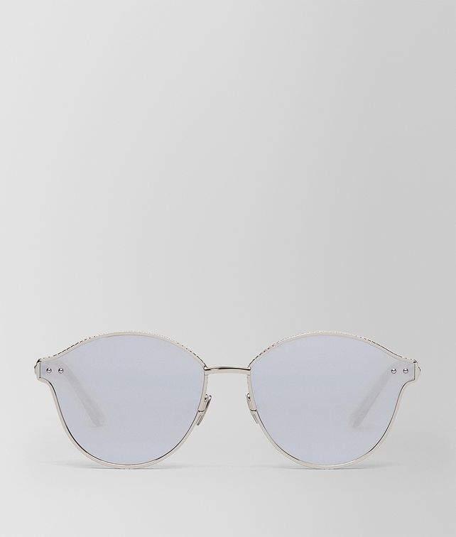 Bottega Veneta Argento Metal Sunglasses