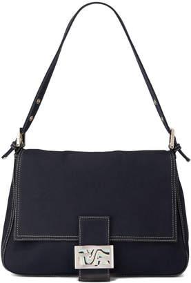 Fendi Mama Mini Canvas Shoulder Bag