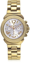 Lancaster Pillo Chronograph Yellow Gold Bracelet Women's Watch