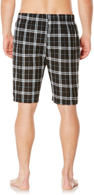 Perry Ellis Large Plaid Sleep Short