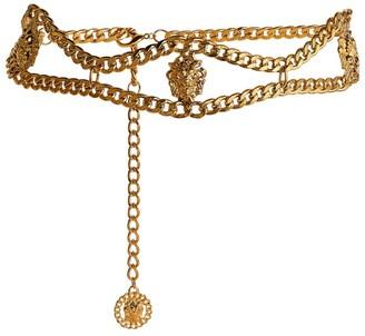 Alessandra Rich Lion Chain Belt