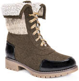 Muk Luks Jandon Womens Water Resistant Winter Boots